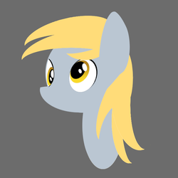 Size: 679x679 | Tagged: artist:sycreon, bust, derpy hooves, female, mare, pony, portrait, safe, solo