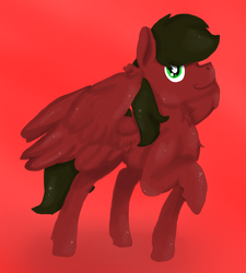 Size: 1465x1629 | Tagged: safe, artist:euspuche, oc, oc only, oc:cloud rider, pegasus, pony, looking at you, simple background