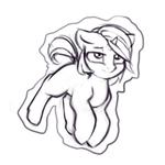 Size: 2000x2000 | Tagged: safe, artist:limchph2, oc, oc only, pony, unicorn, levitation, magic, solo, telekinesis