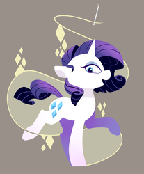 Size: 3000x3623 | Tagged: safe, artist:lilfunkman, rarity, pony, unicorn, female, mare, smiling, solo