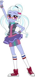 Size: 352x769 | Tagged: dead source, safe, artist:gerardogreiff, sugarcoat, dance magic, equestria girls, spoiler:eqg specials, clothes, converse, cute, female, glasses, legs, looking at you, shoes, simple background, skirt, smiling, sneakers, socks, solo, sugarcute, transparent background