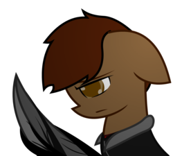 Size: 1280x1152 | Tagged: safe, artist:darksoma, oc, oc only, oc:liam king, pony, [prototype 2], [prototype], alex mercer, arm blade, blacklight virus, blade, crossover, infected, mercer virus, original character do not steal, prototype, simple background, solo, transparent background, vector, video game, video game crossover