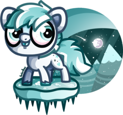 Size: 933x872   Tagged: safe, artist:amberpone, oc, oc only, oc:blizzard, pony, big eyes, black, blue, blue eyes, blue hair, blue mane, cloud, cold, commission, creepy, cute, cute face, cutie mark, digital art, drawing, fanart, floating, gray, happy, hooves, ice, light, lighting, lineart, looking at you, male, mane, moon, mountain, night, original art, original character do not steal, original style, paint tool sai, painttoolsai, pegasister, shading, shooting star, simple background, sky, smiling, snow, stallion, standing, stars, tail, tongue out, transparent background, vein, white, white fur, winter