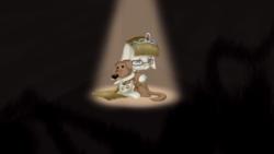 Size: 3309x1861 | Tagged: safe, artist:lixthefork, ripley, zippoorwhill, dog, pegasus, pony, crying