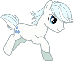 Size: 2361x1936   Tagged: safe, artist:jaybugjimmies, double diamond, earth pony, pony, the cutie map, cute, double dawwmond, galloping, happy, horses doing horse things, male, running, simple background, smiling, smirk, solo, stallion, transparent background, vector, white