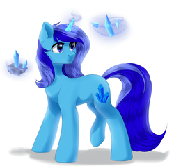 Size: 2926x2800 | Tagged: female, mare, mineral, oc, oc only, oc:spacelight, pony, safe, solo, unicorn