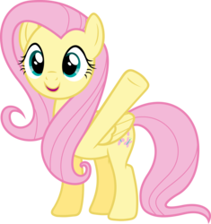 Size: 3839x4082   Tagged: safe, artist:reginault, fluttershy, pegasus, pony, pinkie pride, .svg available, cute, female, folded wings, hello, mare, shyabetes, simple background, smiling, solo, standing, transparent background, vector, waving, wings