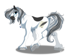 Size: 5200x4000 | Tagged: safe, artist:lupiarts, oc, oc only, oc:sassy response, pony, absurd resolution, female, glasses, jewelry, looking at you, necklace, sassy, solo