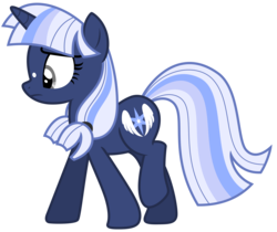 Size: 7443x6250 | Tagged: absurd res, artist:estories, female, mare, oc, oc only, oc:silverlay, pony, safe, simple background, solo, transparent background, unicorn, vector, walking