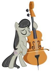 Size: 2147x3000 | Tagged: safe, artist:joltage, octavia melody, pony, cello, missing accessory, musical instrument, simple background, solo, transparent background