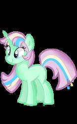 Size: 800x1280   Tagged: safe, artist:digimonlover101, oc, oc only, oc:emraldlace, pony, unicorn, missing cutie mark, simple background, solo, transparent background