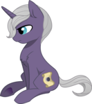 Size: 2046x2313 | Tagged: artist:cinderfall, artist:hippykat13, chest fluff, eclipsing, oc, oc only, pony, request, safe, simple background, sitting, solo, transparent background, unicorn, vector