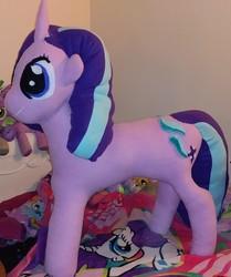 Size: 1959x2340 | Tagged: safe, artist:ponylover88, starlight glimmer, pony, finished, huge, irl, photo, plushie