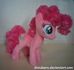 Size: 2432x2286   Tagged: safe, artist:shindeeru, pinkie pie, earth pony, pony, high res, irl, photo, plushie, solo