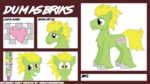 Size: 8000x4500 | Tagged: safe, artist:showtimeandcoal, oc, oc only, oc:dumas briks, earth pony, pony, absurd resolution, big, derp, male, reference sheet, solo, stallion, tall