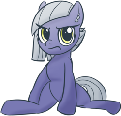 Size: 702x675 | Tagged: angry, artist:baratus93, cute, ear fluff, limabetes, limestone pie, pony, safe, simple background, sitting, solo, transparent background