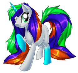 Size: 1200x1128 | Tagged: artist:alanymph, female, heterochromia, mare, oc, oc only, oc:shape shifter, pony, safe, simple background, solo, transparent background, unicorn