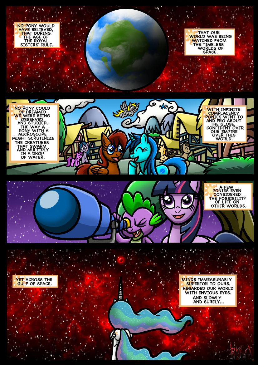 1525700 Alicorn Artistdarklamprey Comic Comicequestrias War
