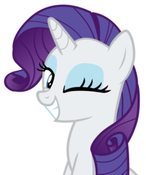 Size: 3789x4535 | Tagged: safe, artist:hendro107, rarity, pony, unicorn, it isn't the mane thing about you, .svg available, absurd resolution, cute, female, looking at you, mare, one eye closed, raribetes, simple background, smiling, solo, transparent background, updated, vector, wink