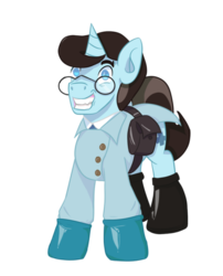 Size: 500x619 | Tagged: artist:paintpaw, clothes, crossover, doctor, gloves, latex, latex gloves, medic, ponified, pony, safe, simple background, solo, team fortress 2, transparent background