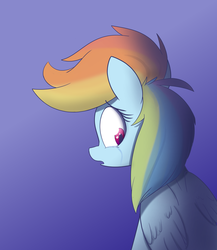 Size: 2600x3000 | Tagged: artist:heir-of-rick, crying, pony, rainbow dash, safe, solo