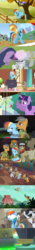 Size: 1086x7786 | Tagged: alicorn, applejack, blindfold, bon bon, bondage, bound wings, candy mane, chicken, cloud kicker, coco crusoe, cooking, cooking pot, daring do, daring done?, discorded, doctor caballeron, doctor whooves, eyes closed, fall weather friends, female, ferret, ferrets, floppy ears, glare, gritted teeth, henchmen, horses doing horse things, jungle, magical mystery cure, male, mare, mouse, party pooped, pegasus, piñata, pinkie pie, pony, quibble pants, rabbit, rainbond dash, rainbow dash, rope, safe, scared, screaming, screencap, smiling, snorting, squirrel, stallion, stranger than fan fiction, sweetie drops, temple, the return of harmony, tied up, time turner, twilight sparkle, twilight sparkle (alicorn), withers