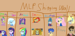 Size: 1006x477 | Tagged: safe, artist:ariasofab, adagio dazzle, derpy hooves, discord, doctor whooves, flash sentry, fluttershy, rarity, sonata dusk, spike, sunset shimmer, time turner, trixie, twilight sparkle, equestria girls, ariadash, bestiality, discoshy, doctorderpy, female, fetish, interspecies, lesbian, male, senata, shipping, sparity, straight, sunsagio, twixie, zoophilia
