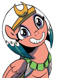 Size: 339x451 | Tagged: safe, artist:brendahickey, edit, somnambula, pony, idw, legends of magic, spoiler:comic, background removed, cute, female, simple background, solo, somnambetes, transparent background