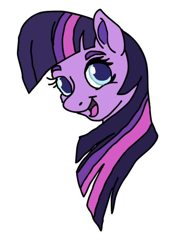 1621600 - artist:smurfettyblue, bust, earth pony twilight