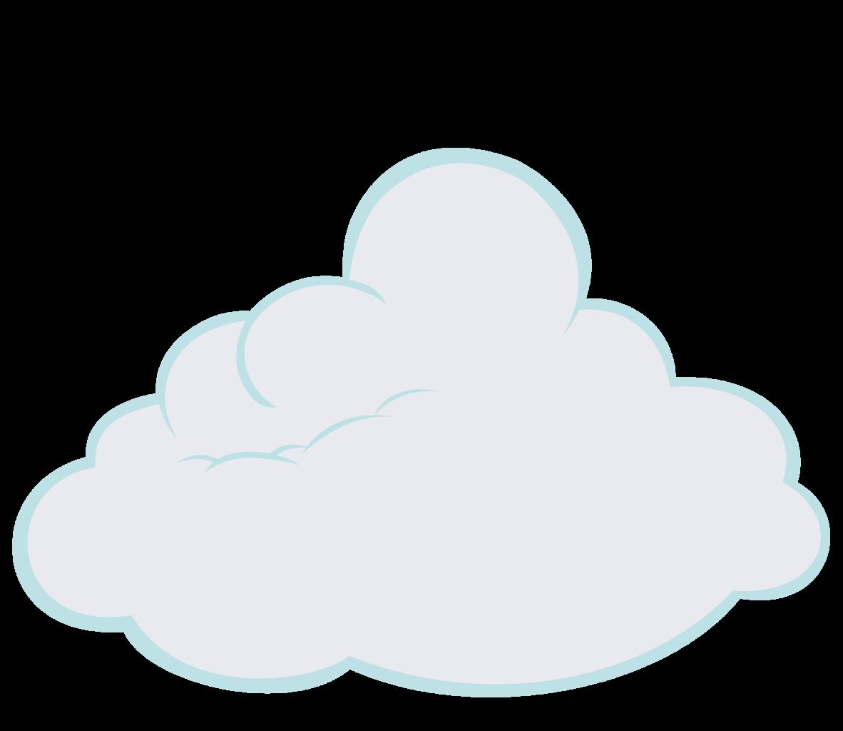 Cartoon clouds invisible background. Artist gurugrendo cloud