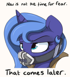 Size: 1120x1224 | Tagged: artist:mistydash, bane, baneposting, batman, edit, female, funny, meme, princess luna, safe, solo, the dark knight rises