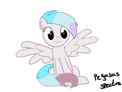 Size: 1600x1200 | Tagged: :3, artist:pegasusspectra, catface, derpibooru exclusive, looking at you, meme, oc, oc only, oc:pegasus spectra, pegasus, pony, safe, simple background, sitting, sitting catface meme, solo, transparent background