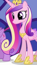 Size: 378x660 | Tagged: cropped, princess cadance, princess spike (episode), safe, screencap