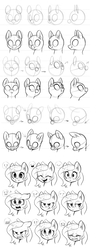 Size: 691x1920 | Tagged: safe, artist:ls_skylight, pony, female, head, how to draw, mare, tutorial, useful