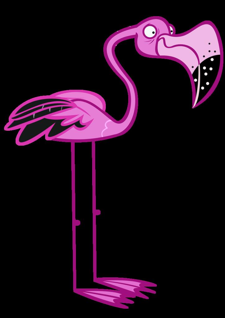 что картинки мультяшного фламинго пришлось