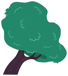 Size: 537x598 | Tagged: a canterlot wedding, artist:proenix, background tree, no pony, plant, resource, safe, simple background, .svg available, transparent background, tree, vector