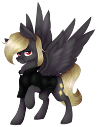 Size: 1024x1340 | Tagged: artist:norrixcurral08, oc, oc:valantis, pegasus, priest, safe