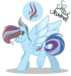 Size: 1024x1099 | Tagged: artist:marielle5breda, base used, female, mare, oc, oc:speed feather, pegasus, pony, safe, simple background, solo, transparent background, underhoof