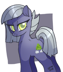 Size: 1000x1134   Tagged: safe, artist:sl0ne, limestone pie, earth pony, pony, female, looking at you, looking back, mare, smiling