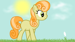 Size: 1920x1080 | Tagged: safe, artist:startledflowerpony, junebug, female, solo
