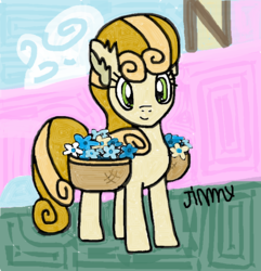 Size: 719x746 | Tagged: safe, artist:jimmythebrony, junebug, female, solo