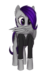 Size: 1200x1758 | Tagged: artist:enkeinn, fallout equestria, fallout equestria: project horizons, oc, oc:morning glory (project horizons), safe, solo, wing hands