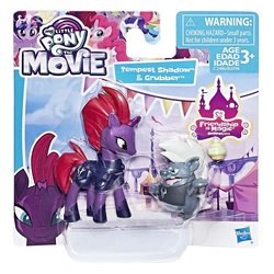 Size: 1500x1500   Tagged: safe, grubber, tempest shadow, my little pony: the movie, official, blind bag, box, cupcake, food, friendship is magic collection, irl, photo, simple background, toy, white background
