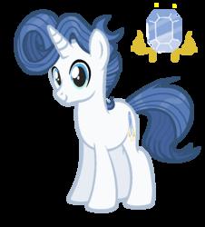 Size: 711x787   Tagged: safe, artist:spectrumnightyt, oc, oc only, oc:pierre gleam, pony, unicorn, male, offspring, parent:fancypants, parent:rarity, parents:raripants, simple background, solo, stallion, transparent background
