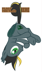 Size: 2424x4096 | Tagged: .ai available, artist:amarthgul, bat pony, behaving like a bat, hanging, male, oc, pony, safe, simple background, solo, stallion, transparent background, vector