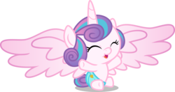 Size: 5430x2857 | Tagged: safe, artist:hendro107, princess flurry heart, pony, once upon a zeppelin, adorable face, cloth diaper, cooing, cuddly, cute, cutest pony alive, cutest pony ever, daaaaaaaaaaaw, diaper, flurrybetes, happy, high res, hnnng, hugable, playful, safety pin, simple background, solo, transparent background, vector, weapons-grade cute