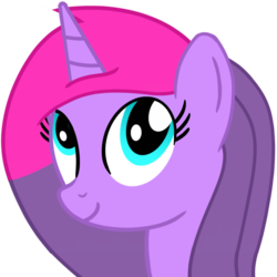 Size: 1000x1000 | Tagged: alicorn, alicorn oc, artist:toyminator900, bust, oc, oc only, oc:wonder sparkle, pontiac, safe, simple background, solo, transparent background