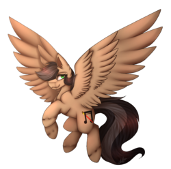 Size: 1069x1062 | Tagged: artist:miamoni, female, mare, oc, oc:artsong, oc only, pegasus, pony, safe, simple background, solo, spread wings, transparent background, wings