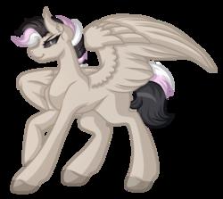 Size: 3997x3560   Tagged: safe, artist:amazing-artsong, oc, oc only, oc:arya, pegasus, pony, black sclera, simple background, solo, transparent background