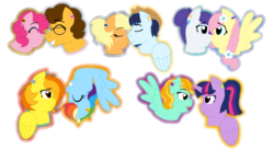 Size: 7903x4318 | Tagged: safe, artist:strawberry-spritz, applejack, cheese sandwich, fluttershy, lightning dust, pinkie pie, rainbow dash, rarity, soarin', spitfire, twilight sparkle, alicorn, pony, absurd resolution, cheesepie, female, flarity, lesbian, male, shipping, soarinjack, spitdash, straight, twidust, twilight sparkle (alicorn)